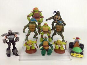Teenage Mutant Ninja Turtles Shredder Toy : Lot 10 teenage mutant ninja turtles toy figures shredder leo raph