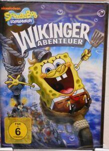 DVD-SPONGEBOB-SPUGNA-TESTA-VICHINGHI-Avventura-8-CARTONI-ANIMATI-94-min