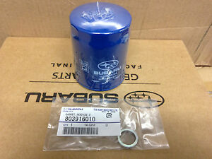 Genuine OEM Subaru Oil filter 15208AA15A & Crush washer Impreza ...