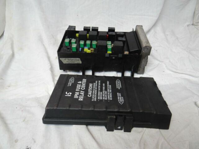 Dodge Caravan T U0026c Fuse Box Totally Integrated Power Module