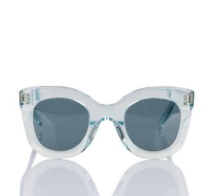 Celine Cl40005f Ice Blue Butterfly Sunglasses Transparent About Marta In Details Acetate NX8wOk0Pn