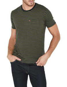 NEW-LEVI-039-S-Short-Sleeve-Classic-Pocket-Tee-Assorted