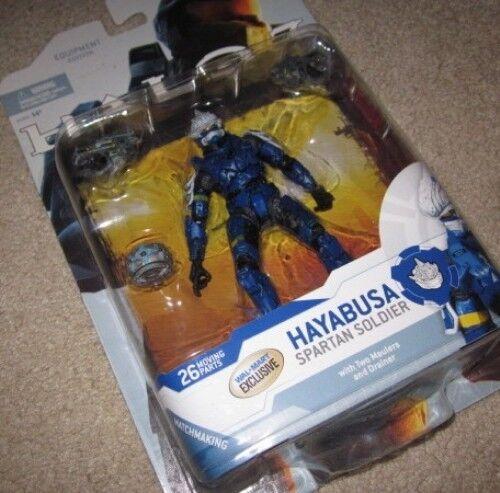 WalMart Exclusive Halo 3 serie 4  blu Hayabusa  Figura de acción, Xbox Nuevo Raro