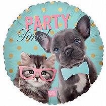 Cat Kitten Kitty Balloons Party Ware Decoration Cats Kittens Novelty Gift Helium
