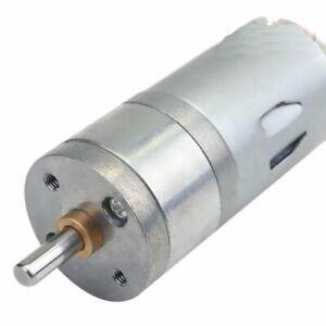 3V-12V-200-RPM-Getriebemotor-Motor-Gleichstrom-Ganzmetall