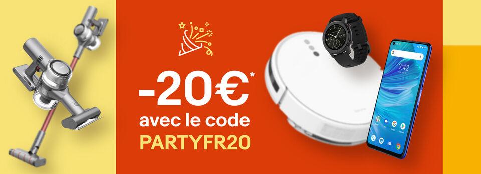 Livraison gratuite - -20€* pour fêter les 20 ans d'eBay