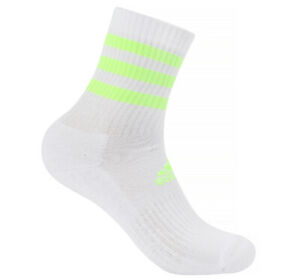 adidas-3-Stripes-Cushion-Crew-Socks-1-Pair-White-Tennis-Running-Soccer-GN2977