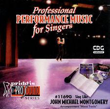 John Michael Montgomery [Priddis] by Karaoke (CD, Oct-1998, Priddis)