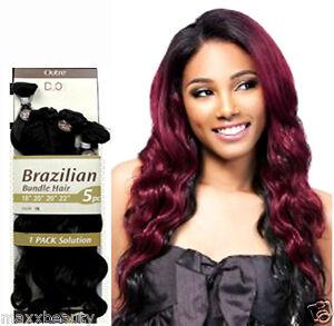 Image Is Loading Outre Batik Brazilian Bundle Weave Hair 5pcs 18