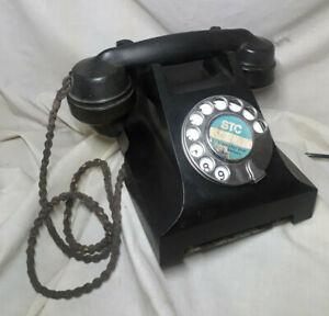 Vintage Bakelite Telephone, Spares, Repair or Display