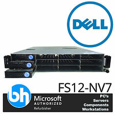 Dell Twin Quad Core Cloud Storage Server FS12-NV7 AMD 32GB ECC RAM VMWare Ready