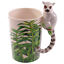 thumbnail 36 - Animal Shaped Handle Ceramic Mug Tea Coffee Cup Novelty Gift Jungle Tropical