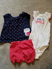 Carters Baby Girl/'s 3-Piece Little SCOTTIE DOG Set CHECK FOR SIZE