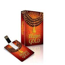 BHAJAN GOLD MUSIC CARD 175 TRACKS WORKS ON ALL USB DEVICES / JAGJIT ANURADHA ETC
