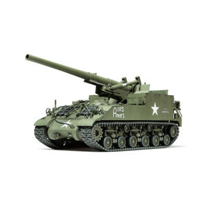 35351-Tamiya-Plastic-Kit-155mm-Spg-M40-Scale-1-35th-Model-Modeling-Crafting