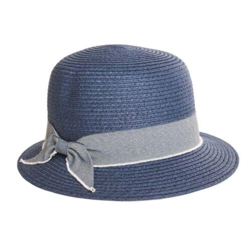 Femme à chapeau de soleil voyage petit bord cloche Léger 124 G