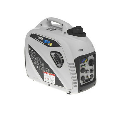 Quipall 2,200 Watt Gas Portable Inverter Generator (CARB) 2200I New
