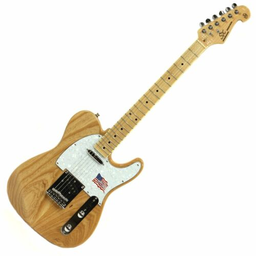 SX ELECTRIC GUITAR TELE SHAPE STUNNING AMERICAN SWAMP ASH BODY