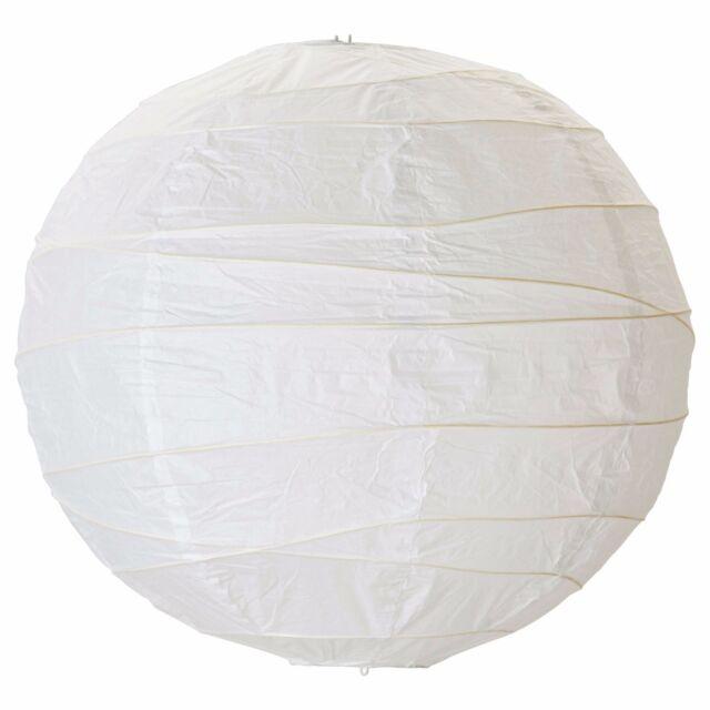 Ikea regolit pendant lamp shade white paper 45 x cm ebay regolit pendant lampshade paper light shade wire shaped ikea aloadofball Gallery