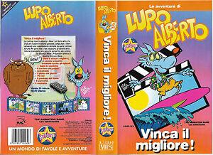 LE-AVVENTURE-DI-LUPO-ALBERTO-VINCA-IL-MIGLIORE-vhs-usato