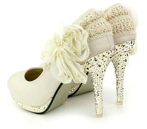 Romantic-Princess-Lace-Flower-Twinkle-Party-Mary-Jane-Wedding-Shoes