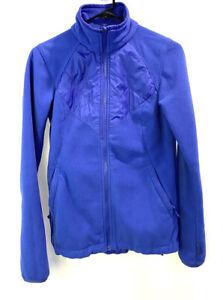Columbia-Women-s-Full-Zip-Fleece-Jacket-Size-Small-Blue-Long-Sleeve-Active