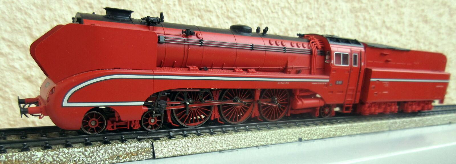 37082 h0 Digital Vapore Locomotiva Br 10 Insider mattoncini + inutilizzato Ovp Top