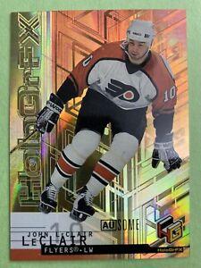 1999-00-Upper-Deck-HoloGrFX-Ausome-44-AU-John-LeClair-Philadelphia-Flyers-SP
