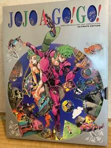 JOJO A-GO GO Art Book JoJo/'s Bizarre Adventure Large Book Set