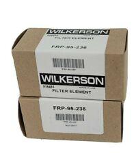 Lot Of 2 Nib Wilkerson Frp 95 236 Filter Elements Frp95236