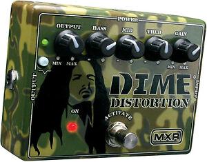 MXR-DD11-Dime-Distortion-Guitar-Effects-Pedal