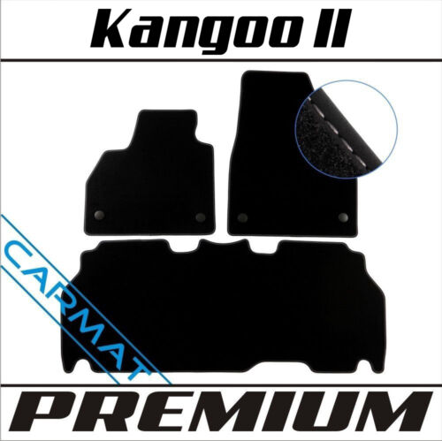 Premium Fussmatten Autoteppiche Renault Kangoo II Bj 2008
