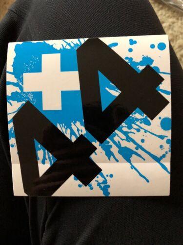 Plus 44 44 when your heart stops beating album promo sticker Blink 182