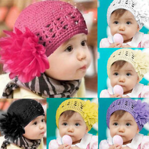 3644493e22c Toddlers Infant Baby Girl Hats Casual Wool Lace Hair Band Headband ...