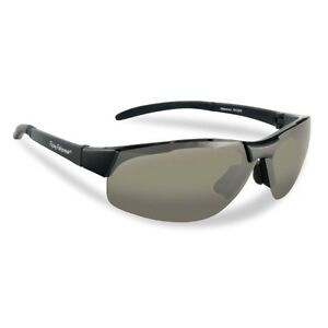 6f80ff6876 Image is loading Flying-Fisherman-7812BS-Maverick-Polarized-Sunglasses -Black-Smoke