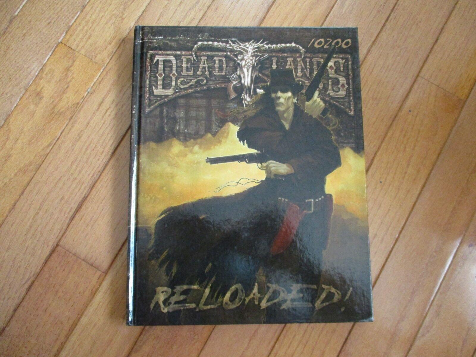 Deadlands recargado Savage Worlds 10200 HC