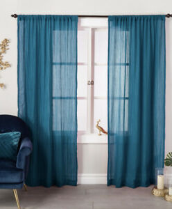 Opalhouse Crushed Sheer Curtain Panel