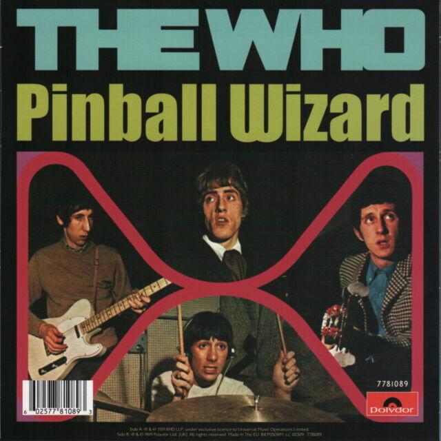 "THE WHO | ROGER DALTREY - PINBALL WIZARD (7"" BLUE VINYL - MINT | SEALED)"