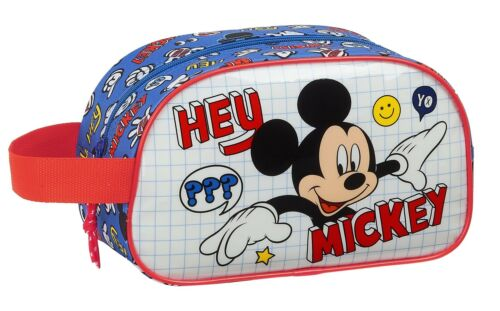 Disney MICKEY MOUSE Gym PE Bag Wash Bag THINGS Toiletry Travel Bag OFFICIAL
