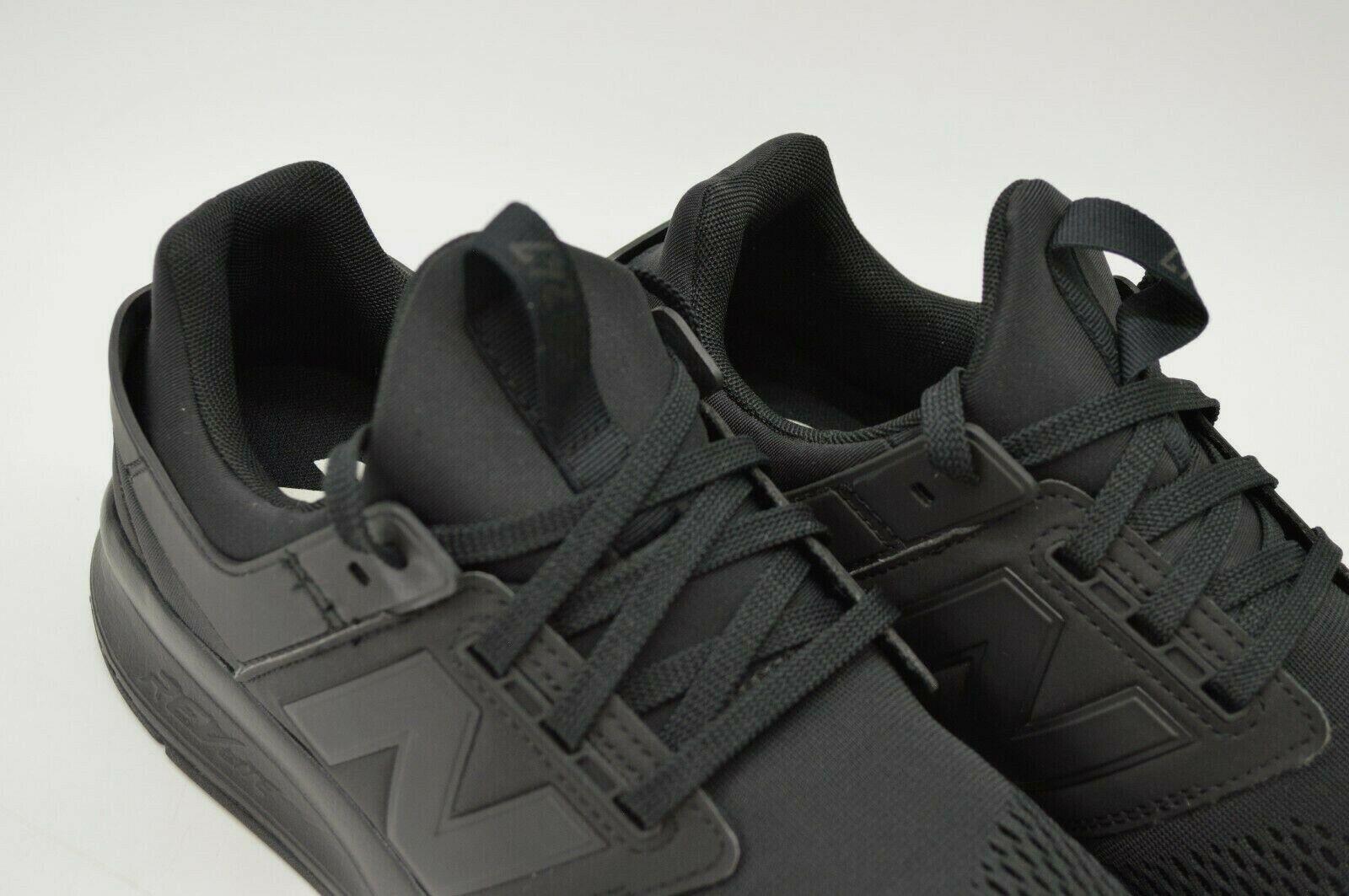 nouveau   Hommes 247 Mode de Vie Classique Noir Chaussures Athlétisme US 12 Ue