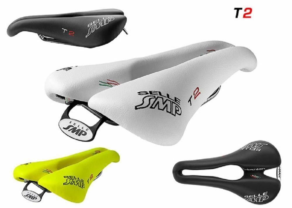Selle SMP Triatlón Sillín de Bicicleta Asiento  T2. Hecho en Italia