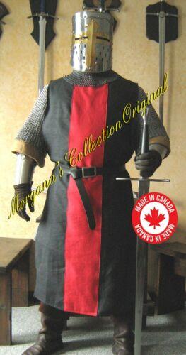 Medieval Knight Heraldry SCA Surcoat Tunic Tabard T10