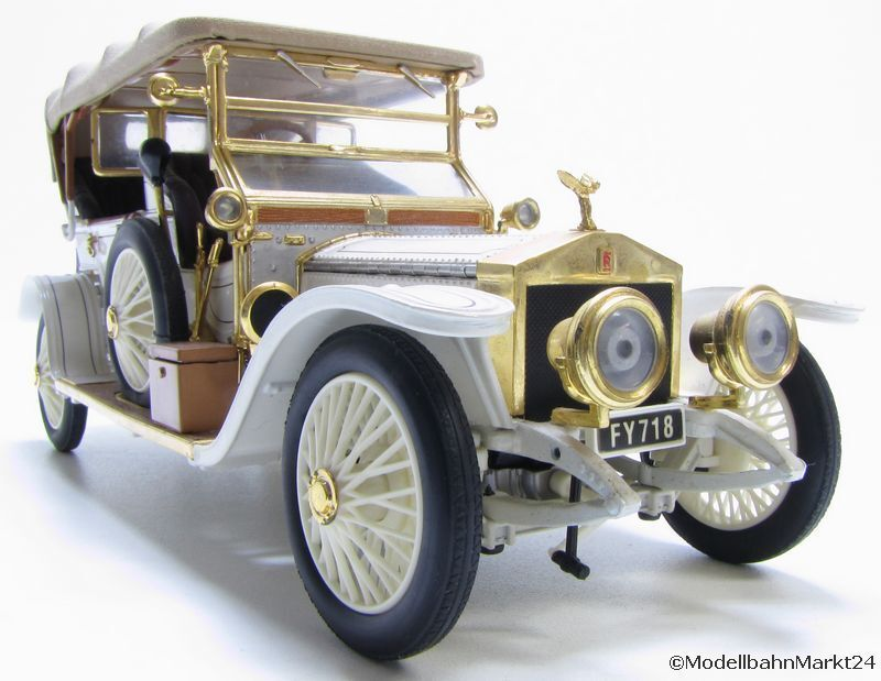 Franklin MINT 1911 Rolls Royce BIANCO SCALA 1 24
