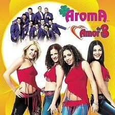 NEW Amor de Tres by Aroma (CD, Mar-2003, Fonovisa)