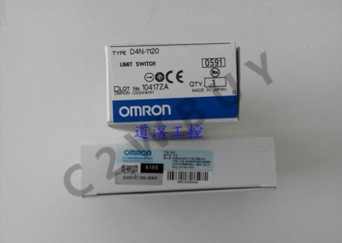 ONE Omron Limit switch D4N-1120
