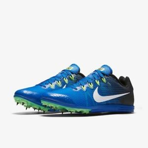 f8eb672b4e86c Nike Zoom Rival D 9 Distance Mens Track Spike 806556-413 Cobalt Blue ...