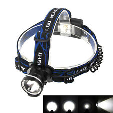 6000LM XM-L T6 LED Rechargeable Headlamp HeadLight Torch Fishing Hunting Lamp