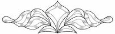 """Stained Glass Supplies Clear Glass Bevel Cluster EC167 18-3/8"""" x 5-1/2"""""""