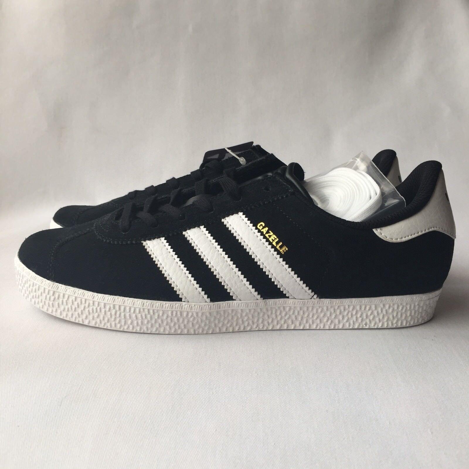 adidas Originals Gazelle Herren Sneakers Schwarze Wildleder Sneakers S32247 Größe 7