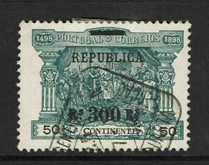 Portugal-SC-197-Used-hinge-remnant-very-minor-diagonal-crease-S7823
